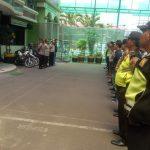 Polsek Metro Tamansari Gelar Pengamanan Pasukan