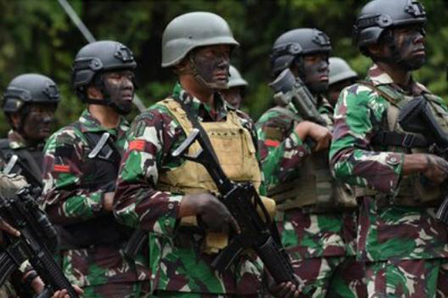 Polri dan TNI Jawab Tantangan OPM Bertempur Secara Gentelman