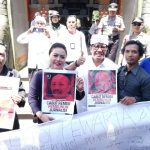 Bupati dan Wakil Bupati Tabanan Bali Ikut Aksi Penolakan Remisi Susrama