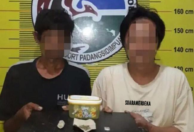 Selama Ramadhan, Polres Padangsidimpuan Bekuk Pengguna Narkotika