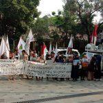 PT Toba Bara Dinilai Ingkar, Massa Aksi Jilid V Minta LBP Ikut Bertanggungjawab