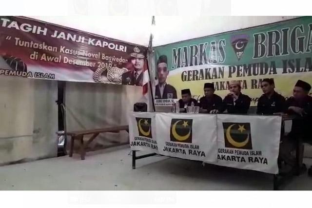 GPI Tagih Janji Kapolri Selesaikan Kasus Novel Baswedan Tahun 2019