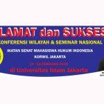 HMP FH UTA45 Nyatakan Siap Sukseskan Konferwil Ismahi Jakarta