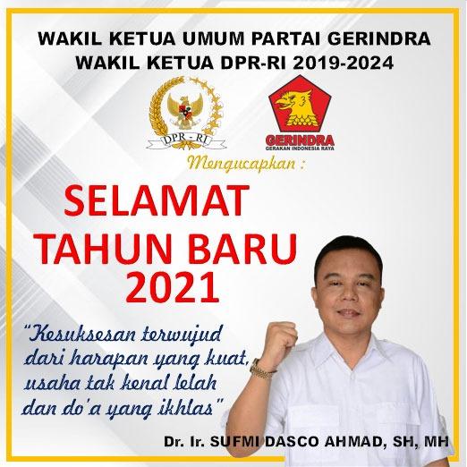DASCO UCAPAN TAHUN BARU 2021